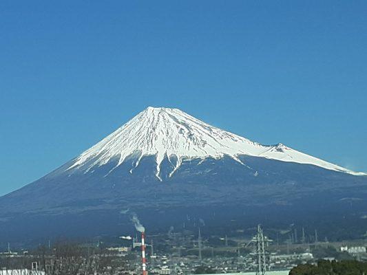 富士山みたいな人