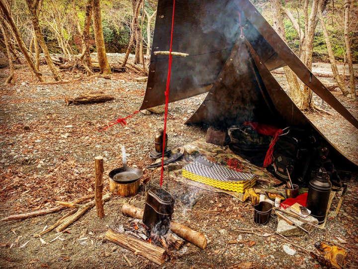 キャンプの楽しみ